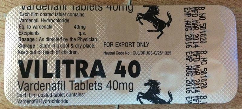 Vilitra 40 Tablets