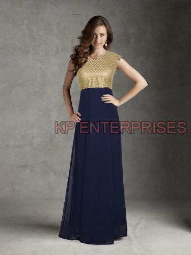 Party Wear Evening Gowns Manufacturer Supplier in Vadodara India