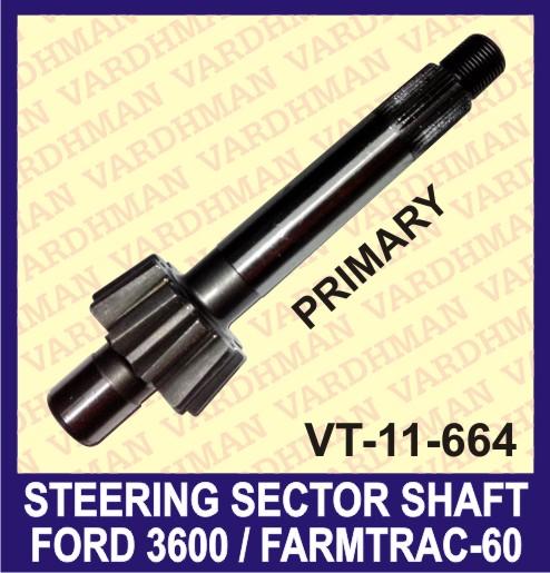 Primary Steering Sector Shaft