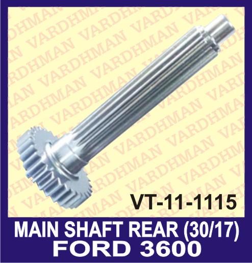 Main Shaft Rear