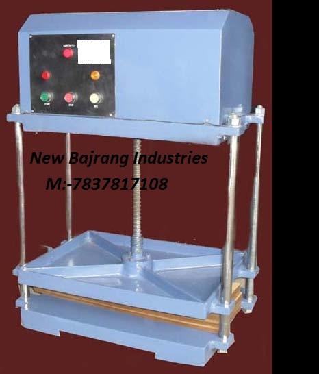 Power Operated Book Press Machine