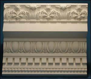 Decorative Plaster Cornice 01