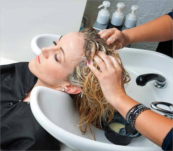 Ladies Hair Colouring Services
