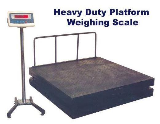 Heavy Duty Platform Weighing Scales