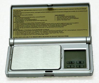 Pocket Weighing Scales