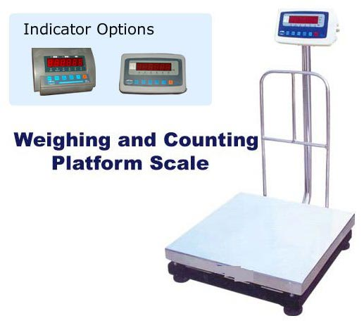 Weighing and Counting Platform Scales