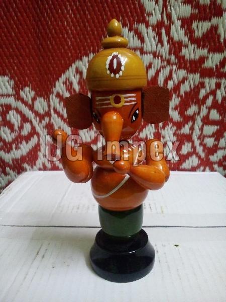 Wooden God Idol 04
