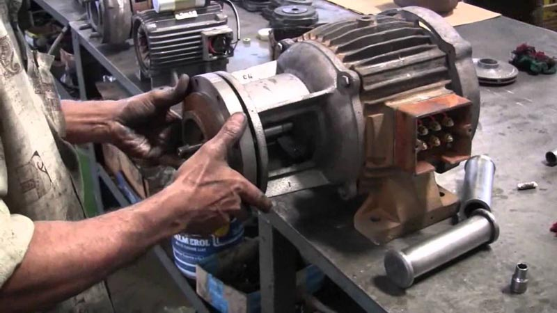 Monoblock water pump repairing services in panchkula for Small electric motor repair parts