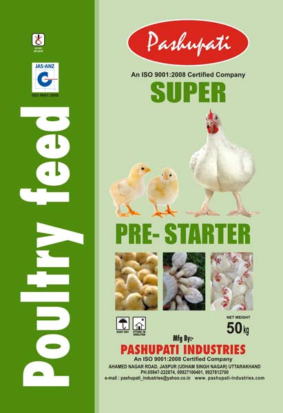 Pre-Starter Poultry Feed