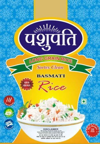Sortex Clean Basmati Rice