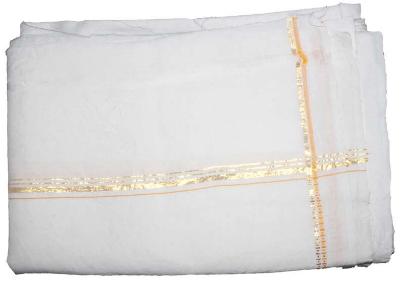 Plain Linen Dhoti
