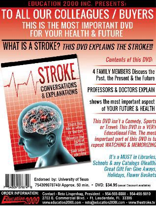 Stroke Conversion and Explanation DVD