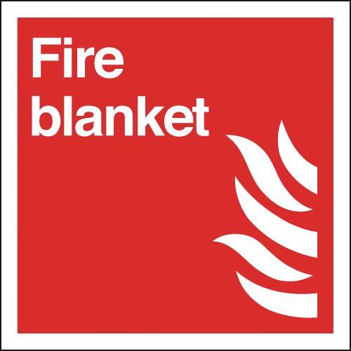 Fire Blanket Signage