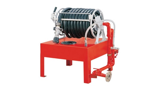 Foam Hose Reel Station
