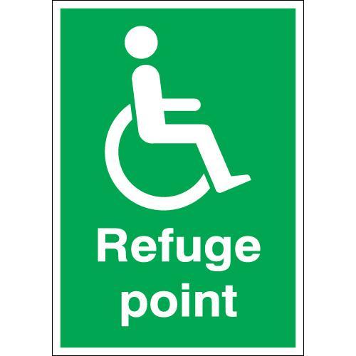 Refuge Point Signage
