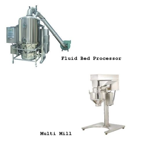 Fluid Bed Processor & Multi Mill