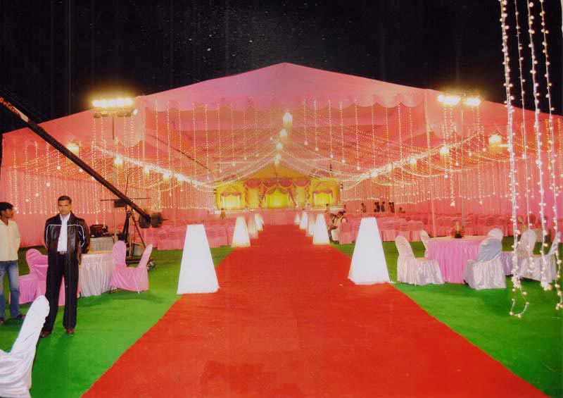 Wedding Tent Decoration & Wedding Tent Decoration LucknowMarriage Tent Decoration in Up