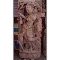 Sandstone Apsara Statue 04