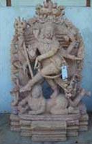 Sandstone Shiva Statue