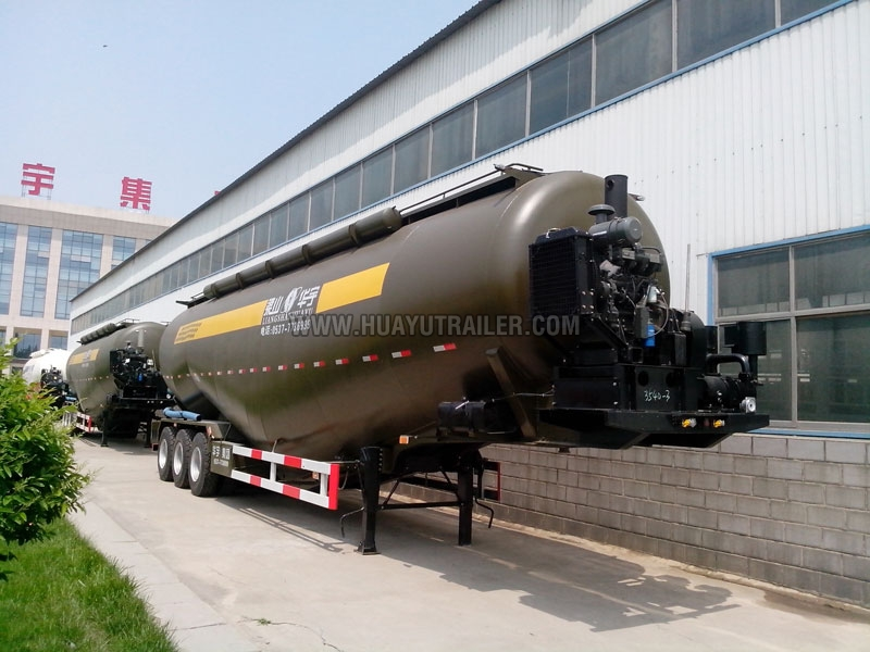 3 axle Bulk Cement Semi Trailer (40M3)