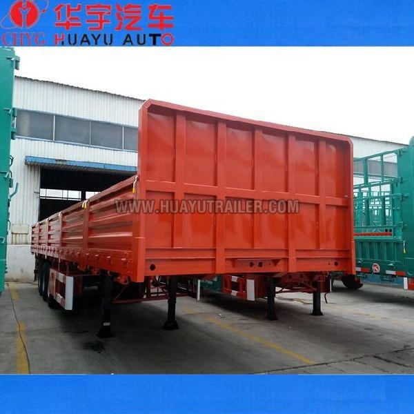 3 Axle Stepwise Side Wall Truck Trailer