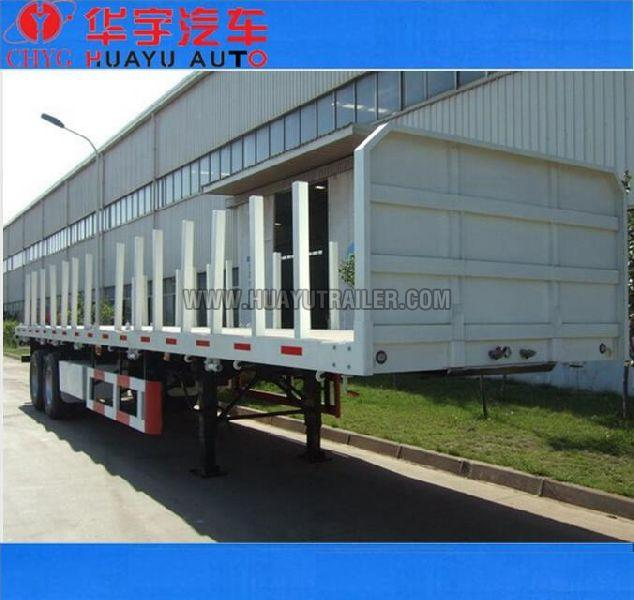 3 axle timber semi trailer