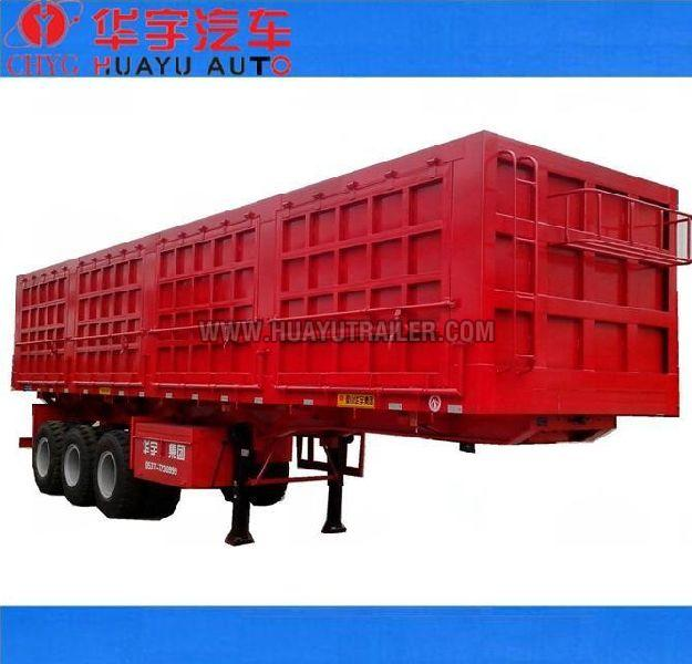 3 axle tipping semi trailer
