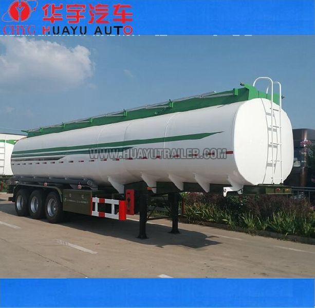 3axle gasoline oil tanker semi-trailer