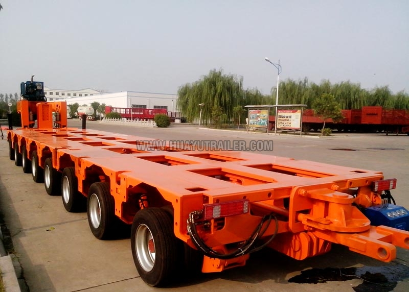 Heavy Duty Hydraulic Axle Trailer