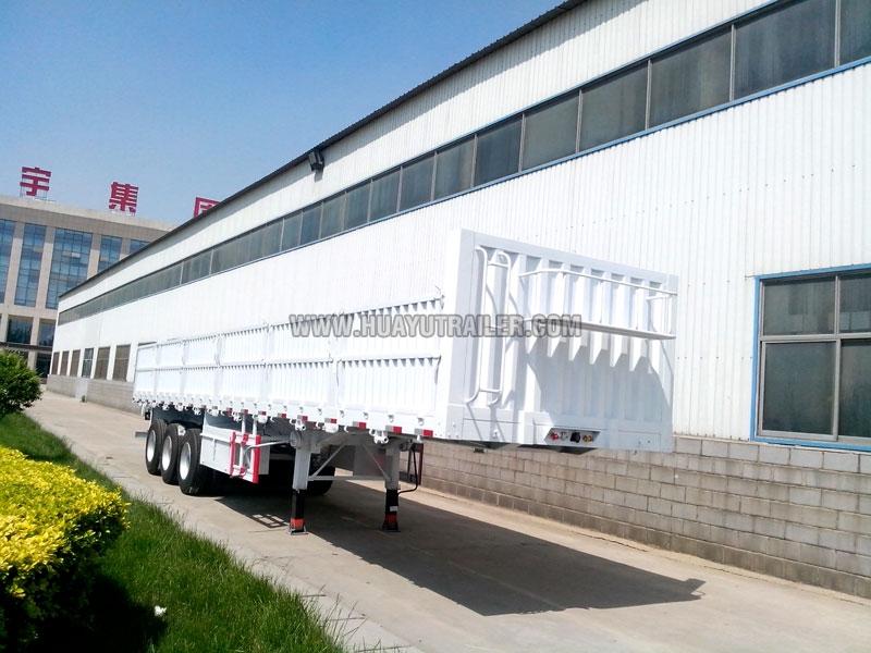 huayuda wall side semi trailer