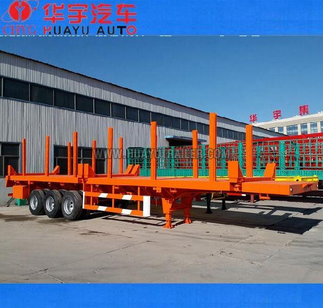 Tri Axle Side Wall Open Flatbd Semi Trailer