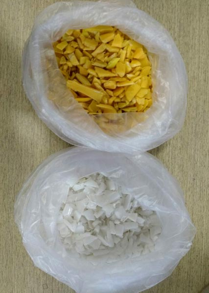 Coloured PP Grinding Flakes 08