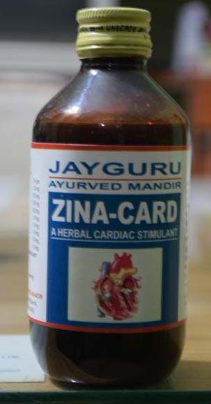 Zina-Card Syrup