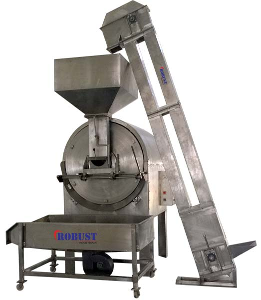 Radiant Heating Rotary Batch Roaster