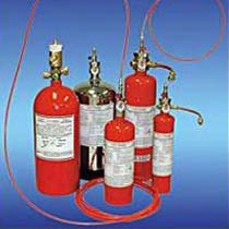 Tube Based Fire Suppression System
