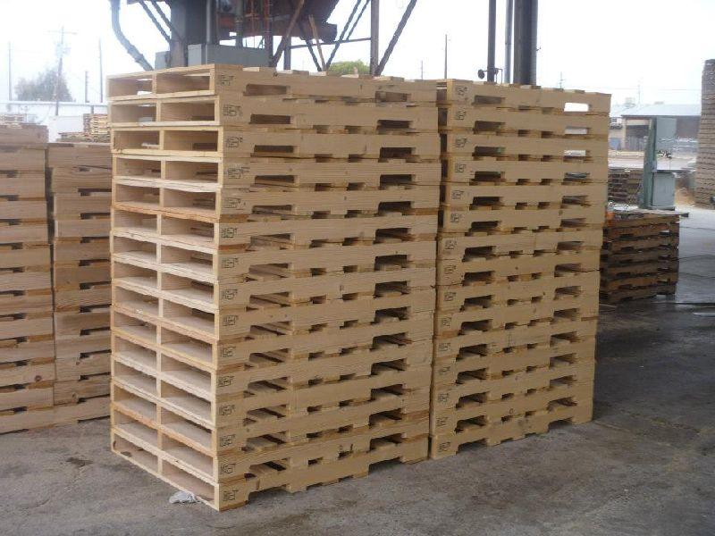 Heat Treated Wood Pallet