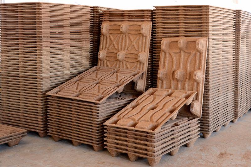 High Pressed Wood Pallet