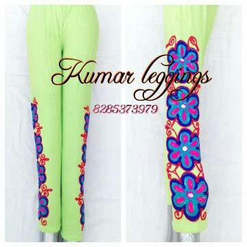 Embroidered Legging 02
