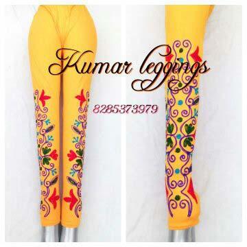 Embroidered Legging 03