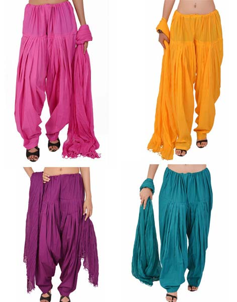 Plain Patiala Salwar 04