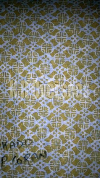 Mikado Popcorn Printed Cotton Fabric