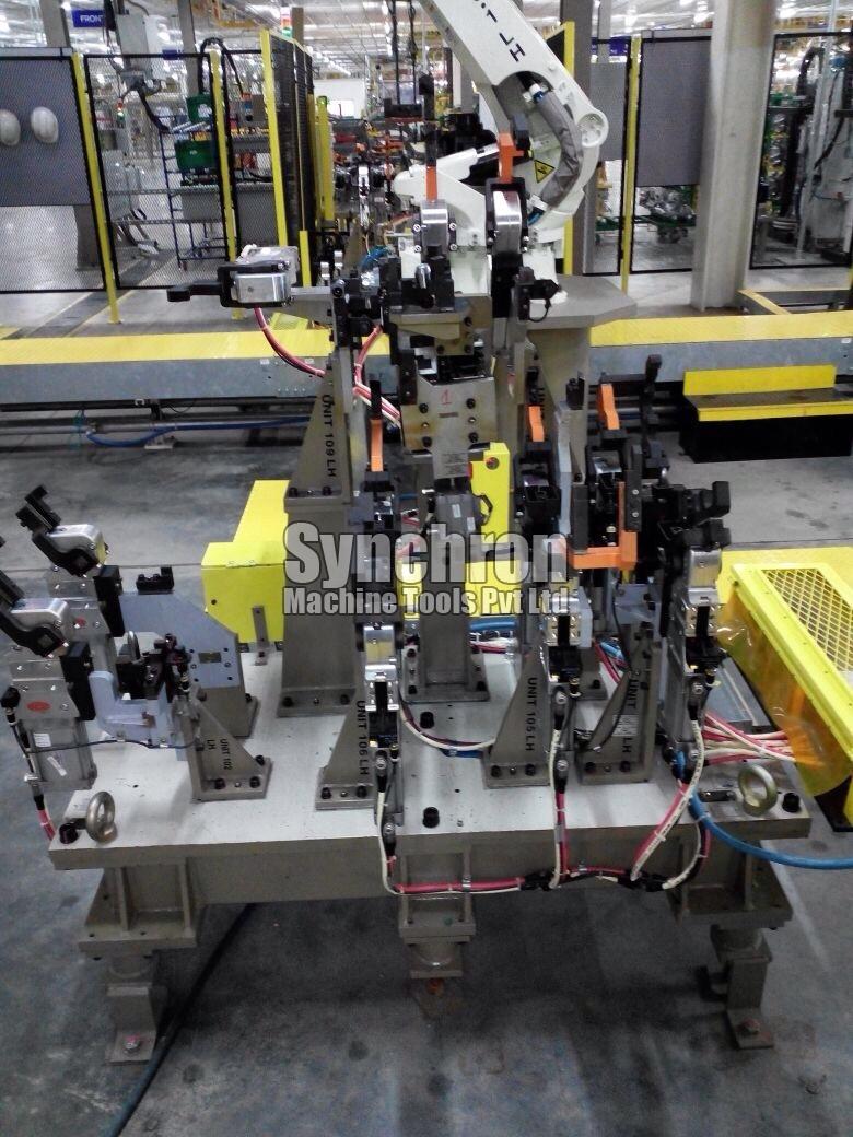 Robotic Welding Fixture