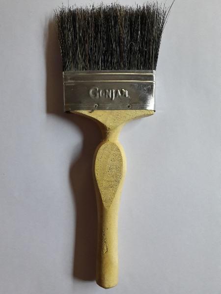Black Desi Hair FRP Brush