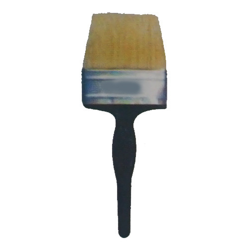 Yellow Hair Bristle Wall Paint Brush