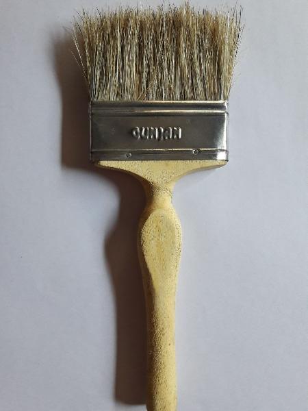 Indian Boiled Bristles Frp Brush