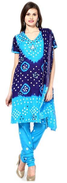 Bandhani Suit Dress Material