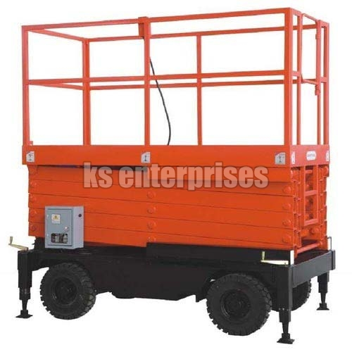 Mobile High-Raise Lift Table