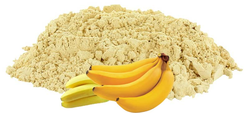 Dehydrated Yellow Banana Powder