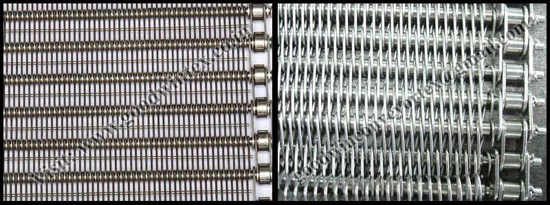 Eye Link Wire Mesh Conveyor Belt 01