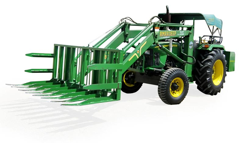 Tractor Mounted Cotton Forklift Loader